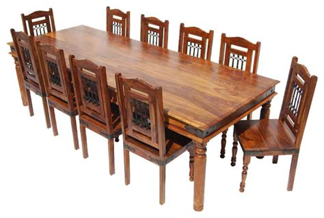 rustic wood dining table set 11 solid wood rustic dining set rustic dining sets