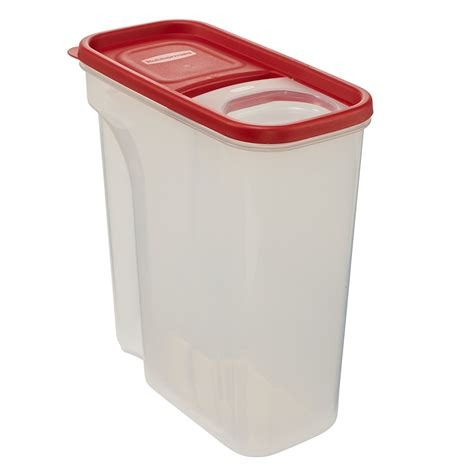 rubbermaid storage containers rubbermaid flip top cereal keeper modular food storage container bpa free 18 ebay