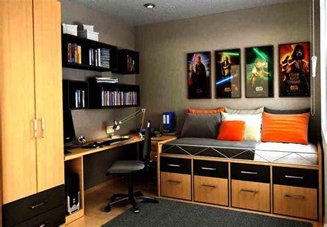 design kamar cowok modern minimalis dan keren rumah idaman