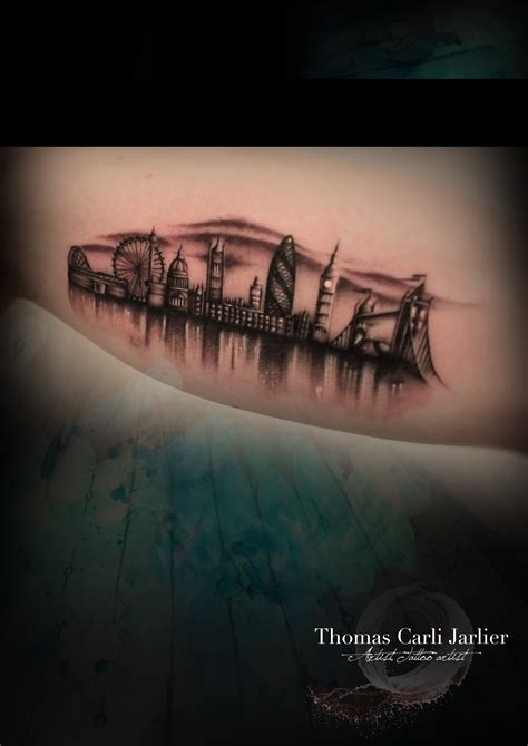 skyline tattoos skyline get inked