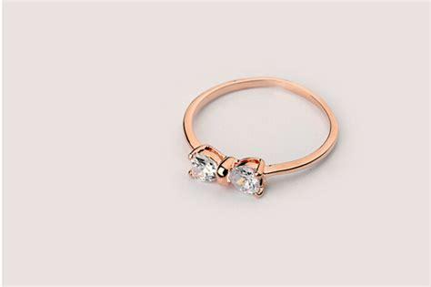 Cincin Gold Plate Alpaka Cincin Lapisan Emas 2 2015 new design 1 gram gold ring bowknot gold zircon finger ring gold ring design for