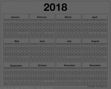 printable calendar 2018 large large printable calendar 2018 hd images quality backgrounds