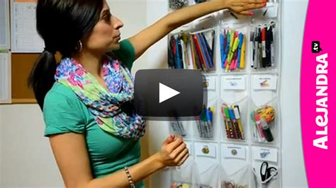 alejandra organizer video school supply organization how to organize