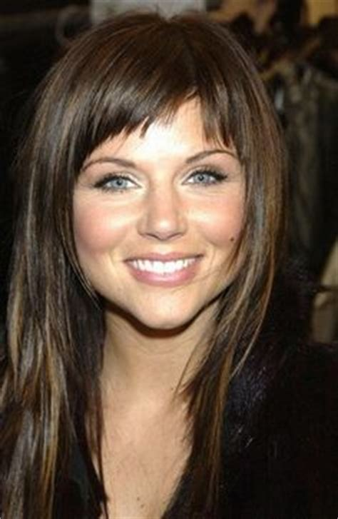 tiffany amber thiessen hairstyles tiffany thiessen bangs on a wide face this may actually