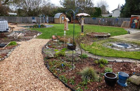 creating   acre garden