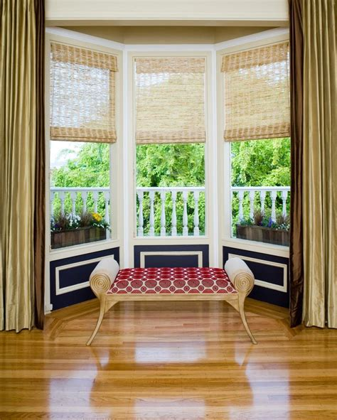bay window window treatments bay window treatments living room contemporary with