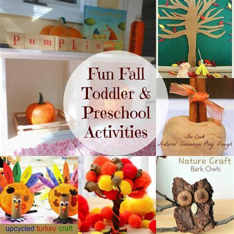 fun fall toddler and preschool activities natural beach living