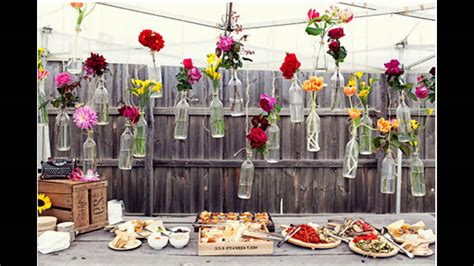 backyard party decoration awesome outdoor party decoration ideas youtube