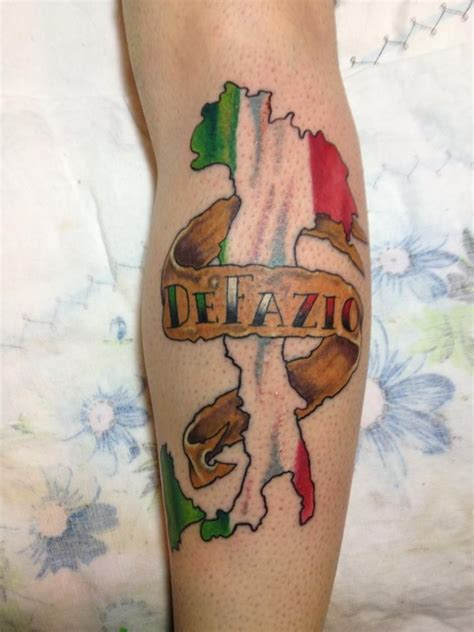 italian tribal tattoos italian awesome flag tattoomagz