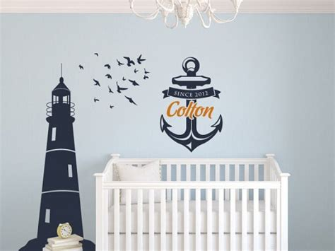 Nautical Decor Nursery Nautical Nursery Decor Shipshape Nursery Decorbabynurseryideaphotos