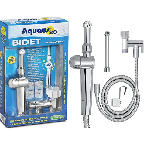 aquaus 360 bidet aquaus 360 176 premium held bidet with ez pressure