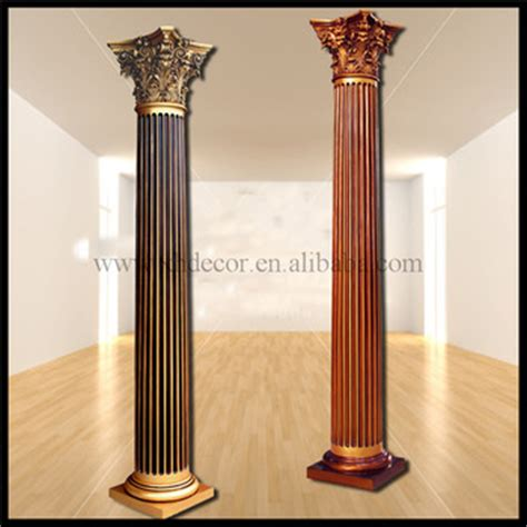 Pillars For Home Decor | frp decoration roman column pillar pu roman column home