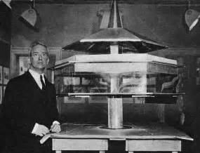 buckminster fuller dymaxion house buckminster fuller with first model of dymaxion house 1927