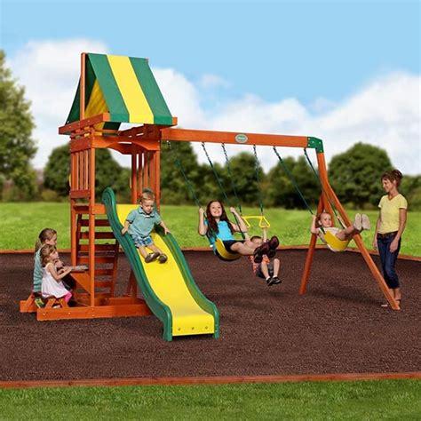 prestige swing set prestige swing set by backyard discovery family leisure