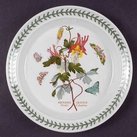 Botanical Gardens Dishes Portmeirion Botanic Garden Columbine Salad Plate S5056810g2 Ebay
