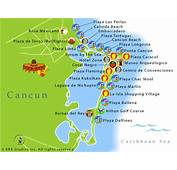 Cartes  Plan De Cancun