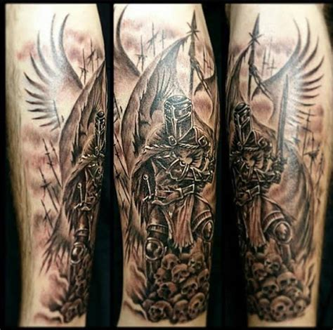 winged knight inner vision tattoo
