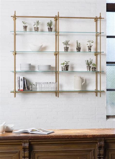 glass kitchen shelves 25 best ideas about glass shelves on window