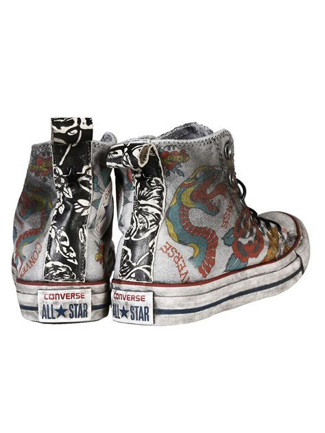 converse tattoo converse converse all hi canvas ltd iron