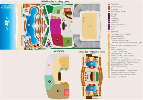 palace resort cancun map palace resort map cancun www romanticplanet ca