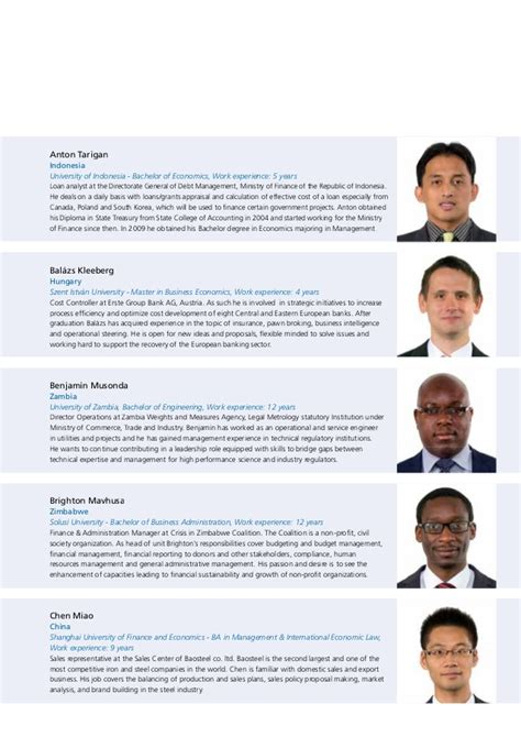 Makerere Mba Fees by Meet The Mba Class Of 2015