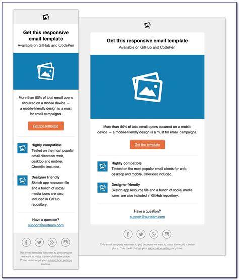 outlook  newsletter template