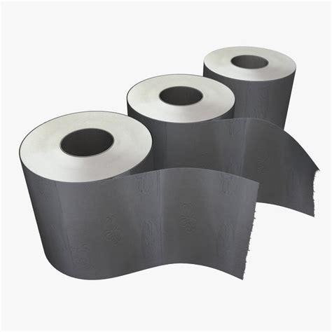 toilet paper 3d 3d toilet paper model