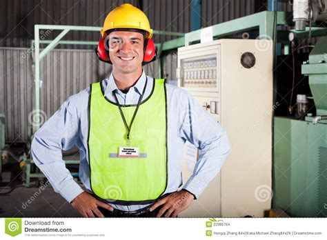 Industrial Safety Officer health and safety officer stock images image 22985764