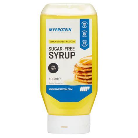 buy sugar free syrup myprotein ireland