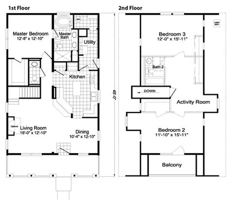 Highland Homes Floor Plans by Modular Homes In Hstead Nc Modular Homes Jacksonville