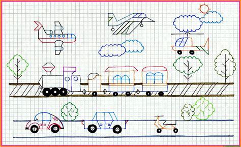 imagenes para dibujar en cuadricula dibujos en cuadr 237 cula en color y para colorear web del