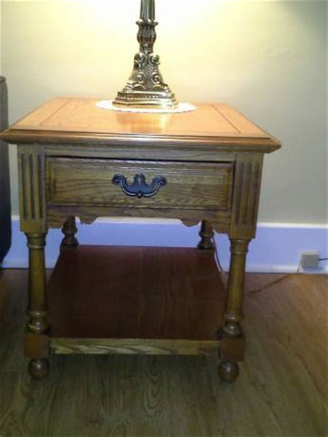 Broyhill Coffee And End Tables Broyhill Coffee Table And Matching End Tables The Batavian