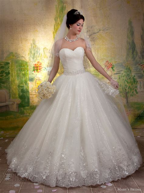 Mary?s Bridal Fall 2013 Wedding Dresses ? Sponsor Highlight   Wedding Inspirasi