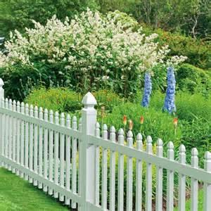 gatehouse arborley white picket vinyl fence panel