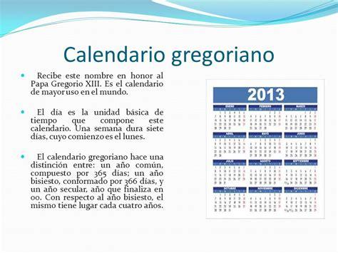 El Calendario Gregoriano El Calendario Ppt Descargar