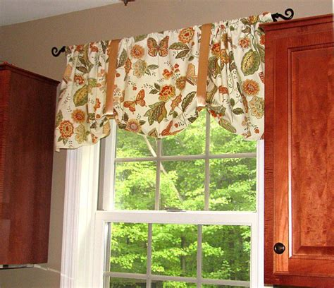How To Make Kitchen Curtains How To Make Curtains From Napkins From Living Rich On Less Cool Kitchen Bath Ideas