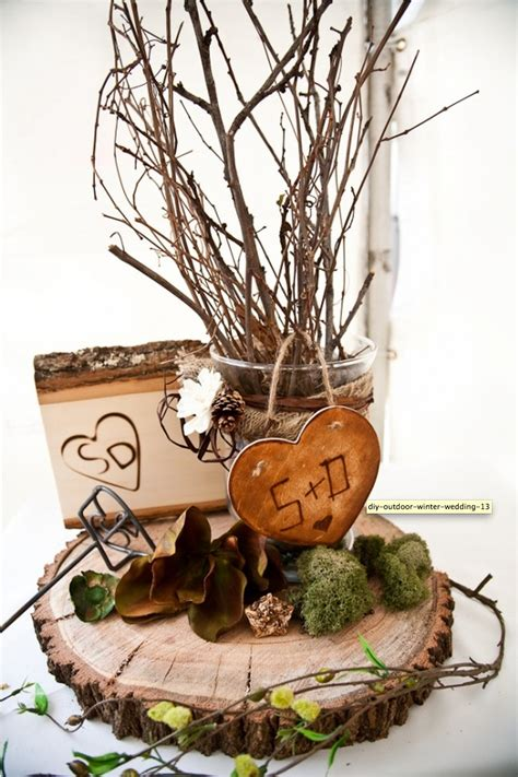 diy nature decor winter wedding decorations from the forest wedding destination colombia