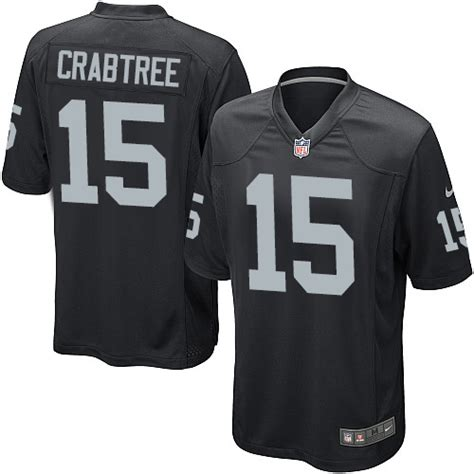 youth michael crabtree 15 jersey a lifetime p 1594 nike youth michael crabtree black home jersey 15