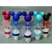 Pin Mesa Dulce De Mickey Torta Mini Cupcakes Y Cookies Chupet N En