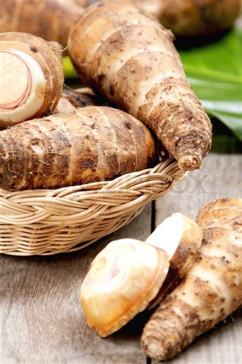 is yam a root vegetable taro or yam stock photo colourbox