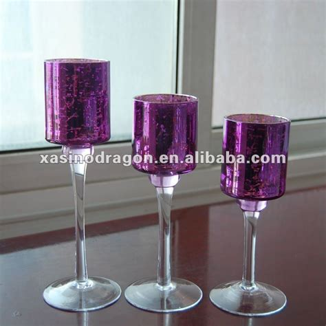 Purple Candle Holders Your Chance Purple Candle Holders Wedding Decorations