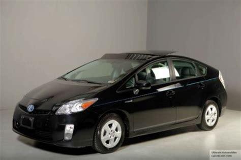 2010 Toyota Prius V Purchase Used 2010 Toyota Prius V Hybrid Nav Solar