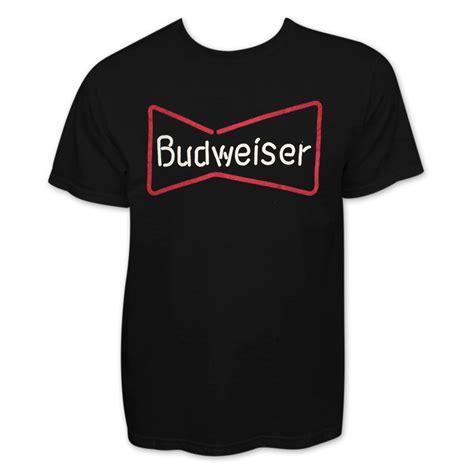 t shirt budweiser ifm1 budweiser s neon sign black t shirt