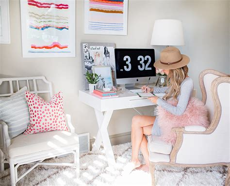 design bloggers at home review a fashion blogger s home office decoholic