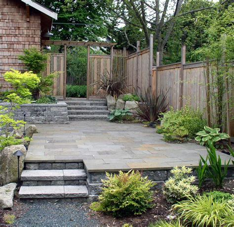 seattle bluestone patio contemporary patio other