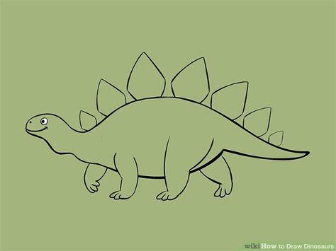 doodle dinosaur draw ruptor 5 ways to draw dinosaurs wikihow