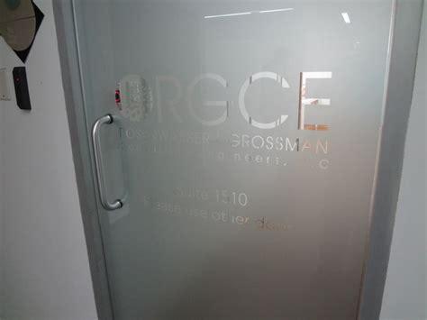 pin  signs visual  signs  york office signs