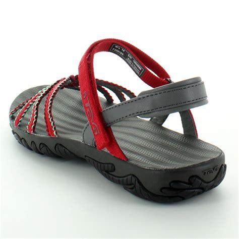walking sandals for travel teva womens kayenta weave lattice travel