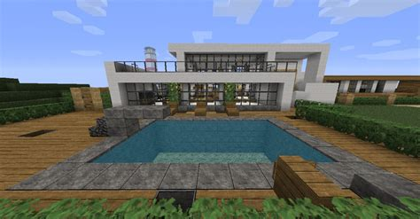 Houses On Minecraft by Minecraft Modern House Minecraft Project