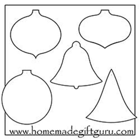 Free Printable Crafts And Templates Templates For Ornaments